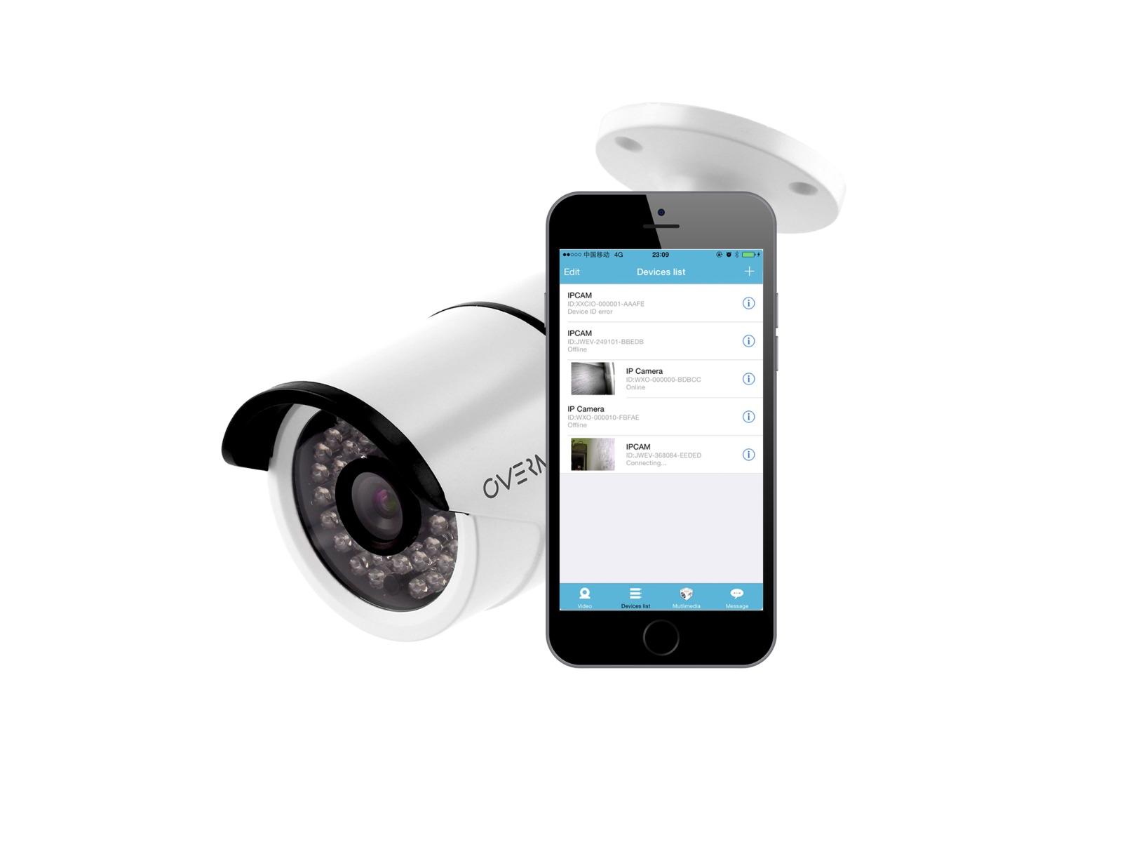 Zewnętrzna kamera IP Overmax Camspot 4.6