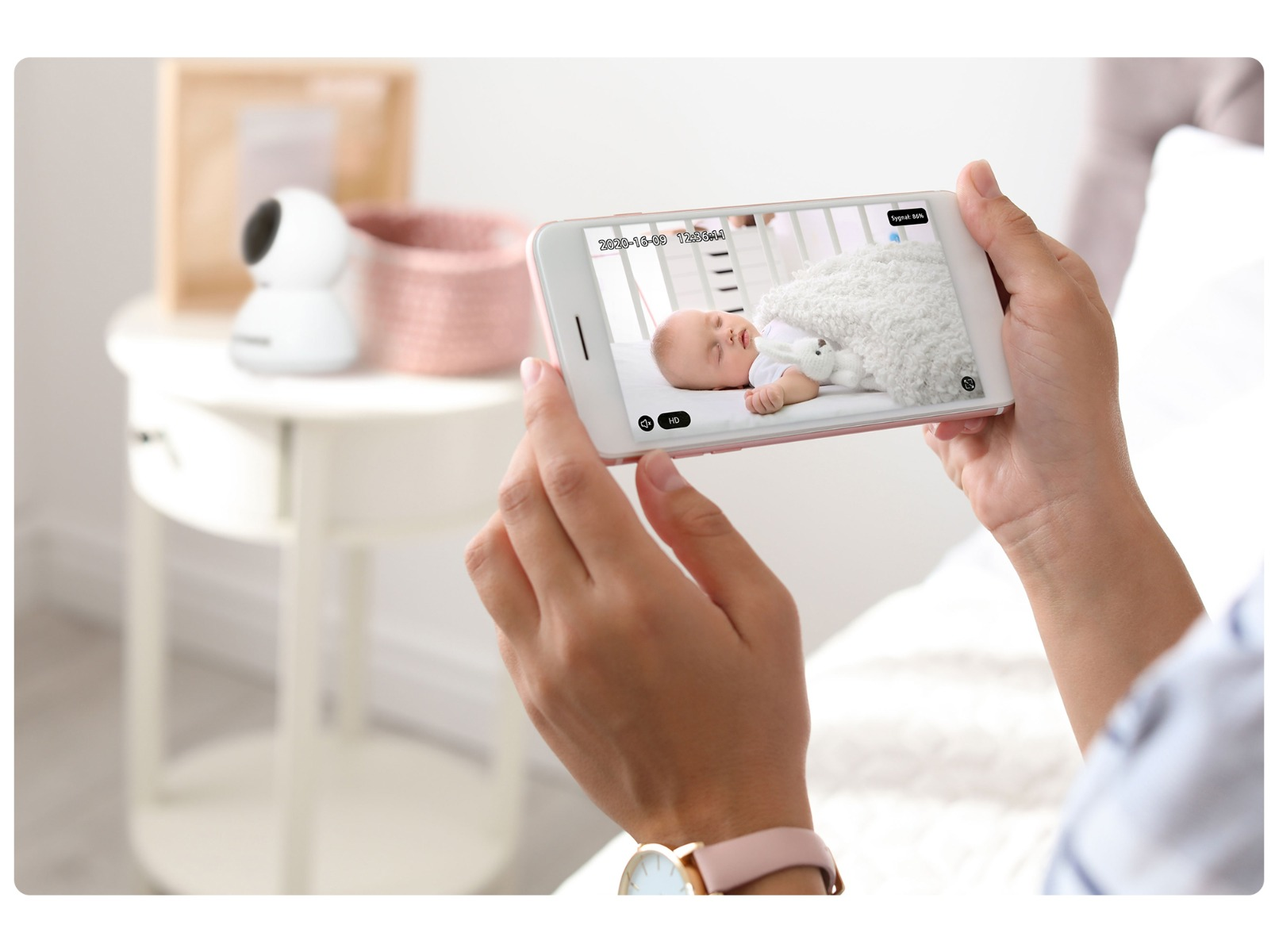 Wewnętrzna kamera IP Overmax Camspot 3.7