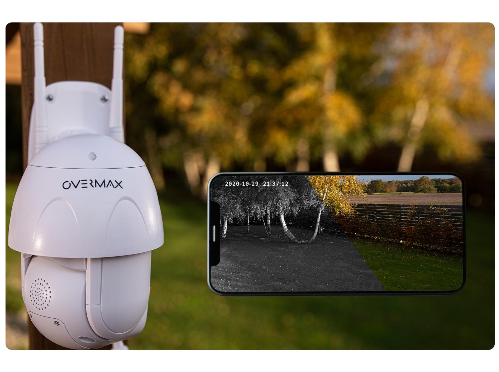 Zewnętrzna obrotowa kamera IP Overmax Camspot 4.9