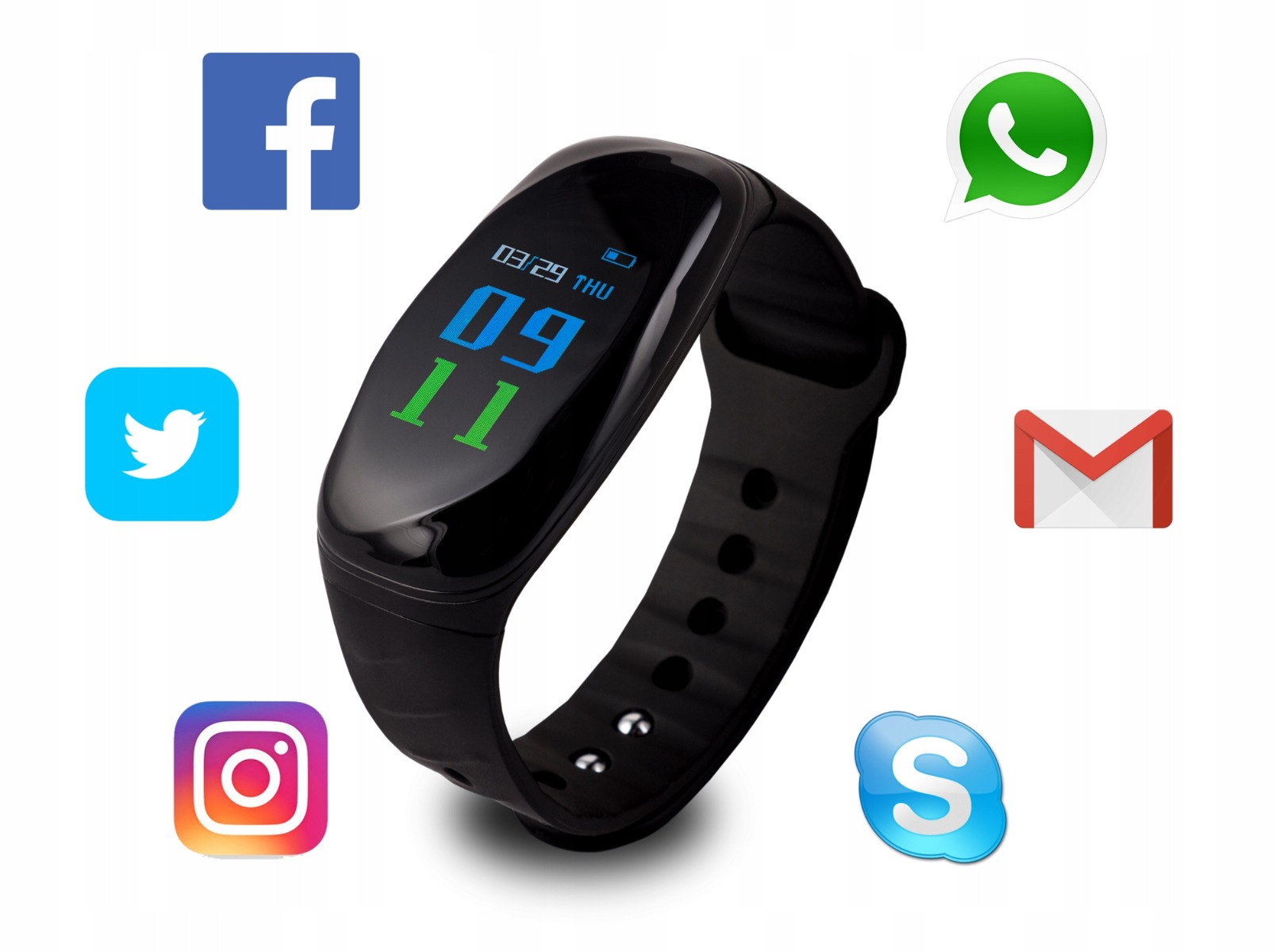 Smartband Overmax Touch Go 3.0