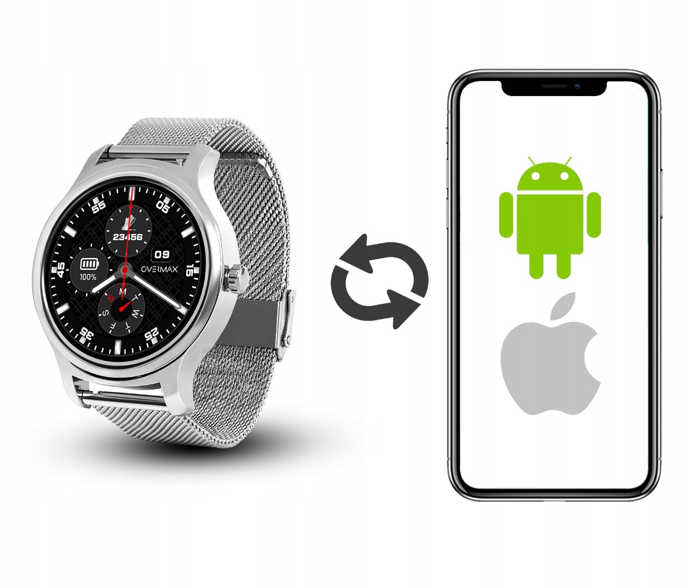 Smartwatch Overmax Touch 2.6 Black